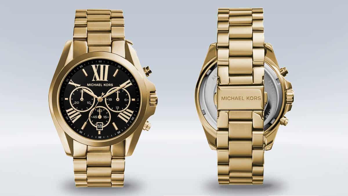 Dámské hodinky Michael Kors MK5739 s černým ciferníkem