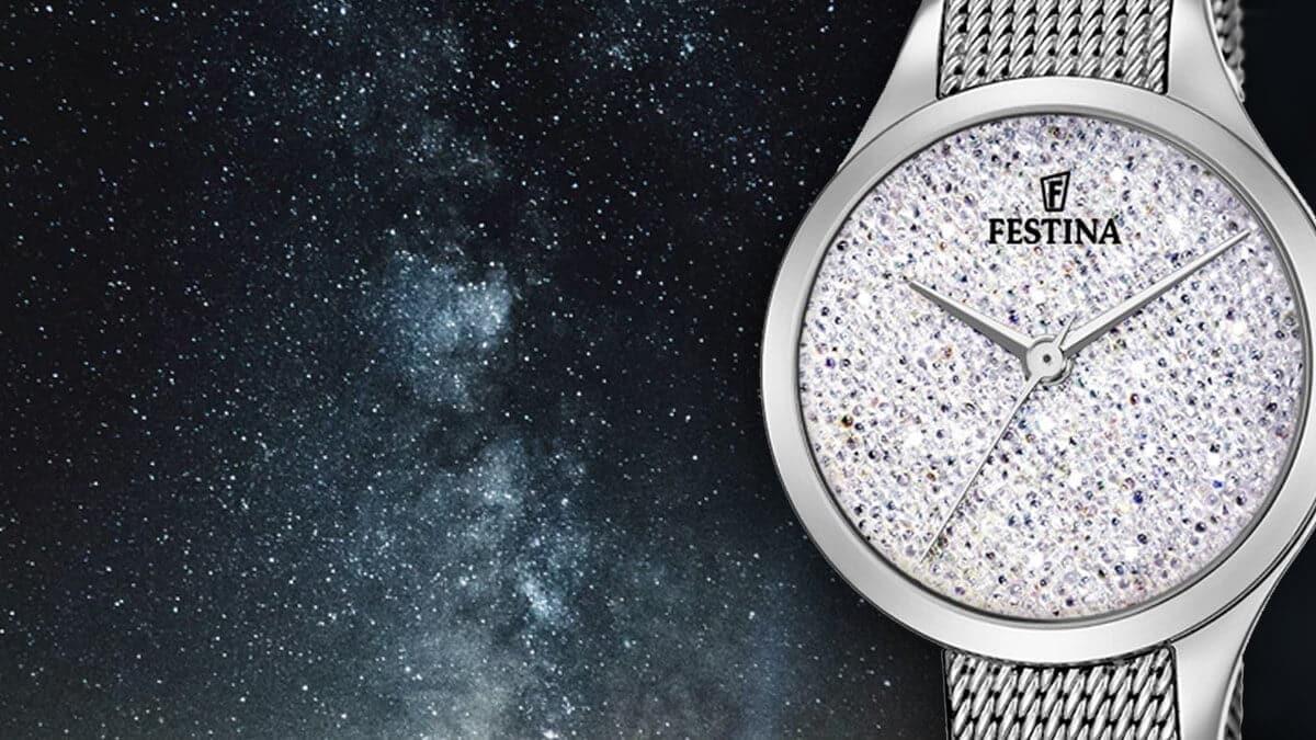 Dámské hodinky Festina Swarovski jsou skvělým doplňkem elegantní dámy