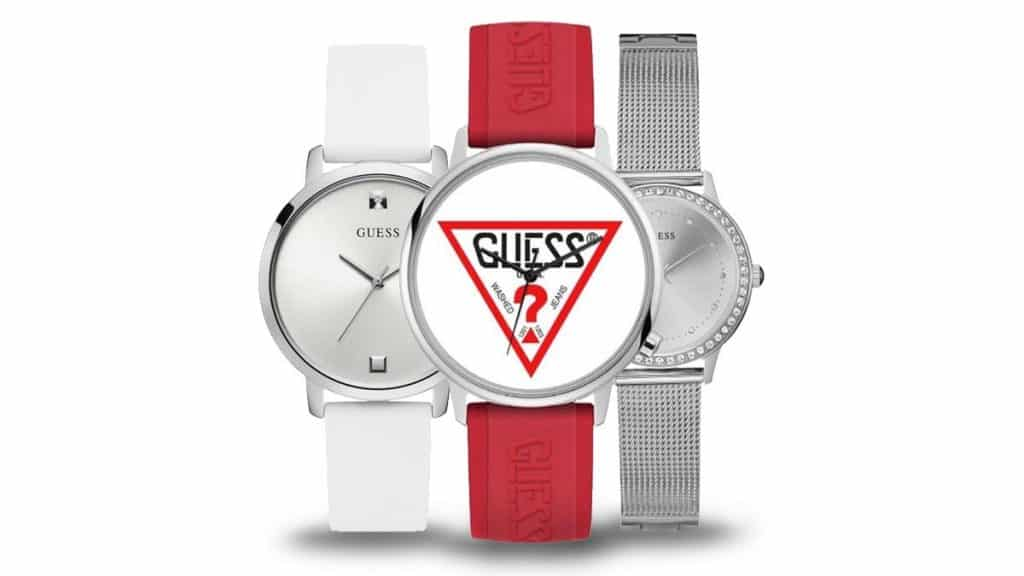 Extravagantní dámské hodinky Guess nejrůznějších stylů a barev