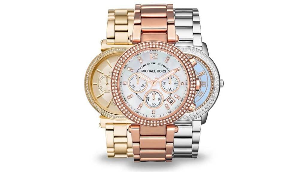 Nejoblíbenější hodinky mezi dámami jsou Michael Kors