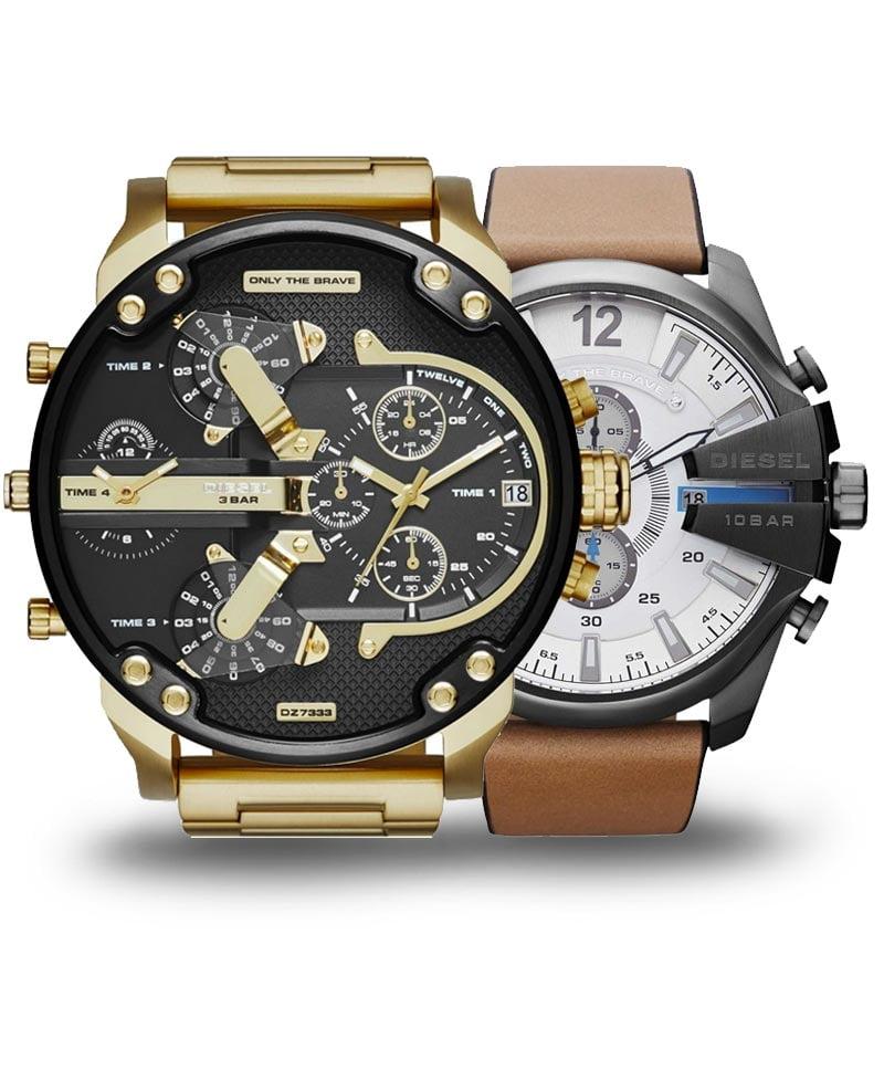 Velké hodinky Diesel pro pořádného chlapa