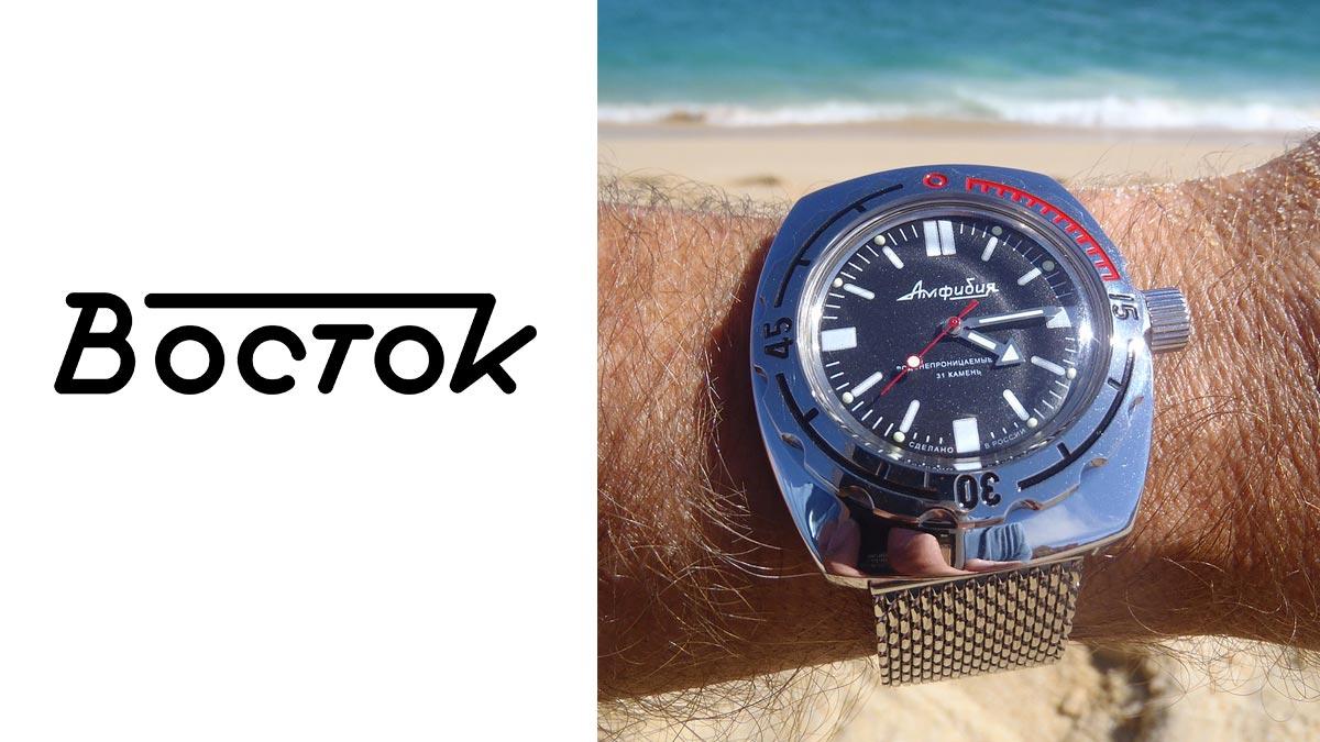 Legendární ruské hodinky Vostok Amphibia