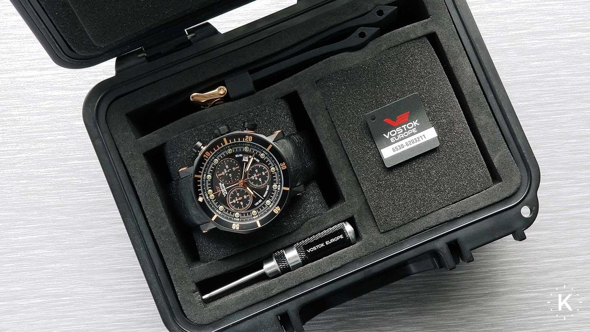 Zajímavé hodinky Vostok N1 Rocket pojmenovány podle nosné rakety