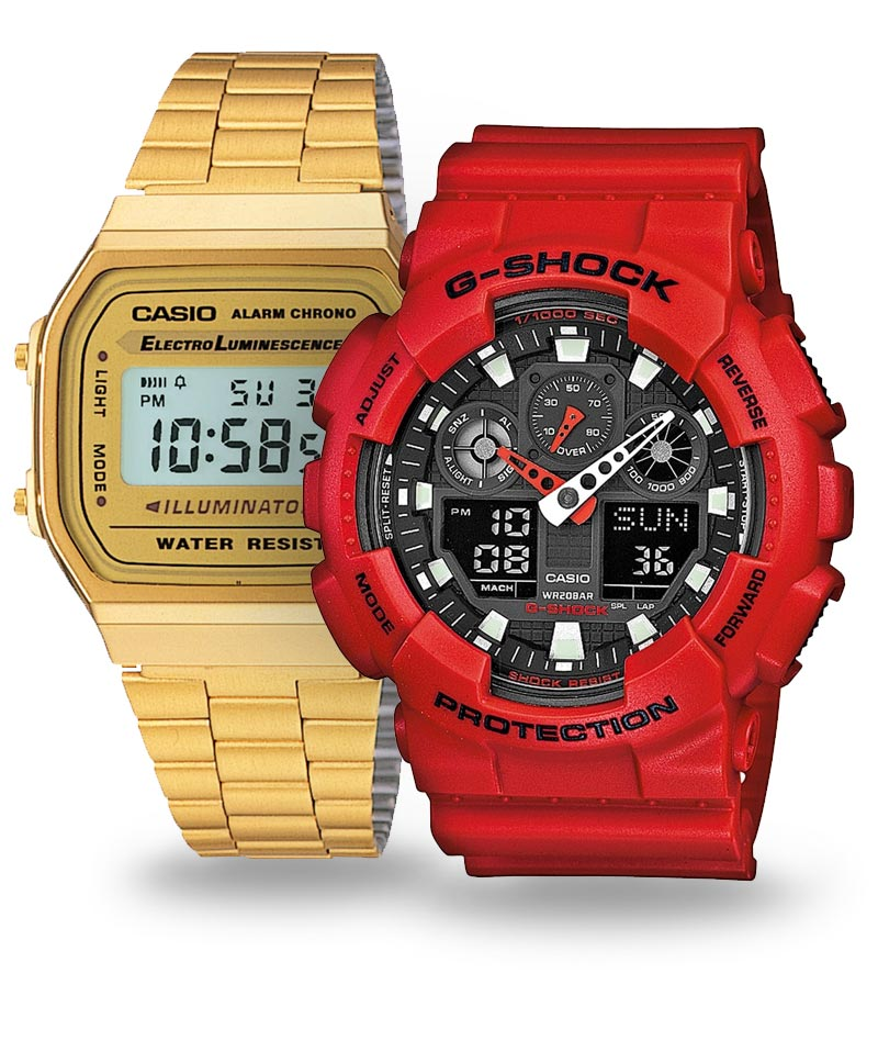 Legendární pánské hodinky Casio | Populární edice G-Shock, Edifice, Vintage