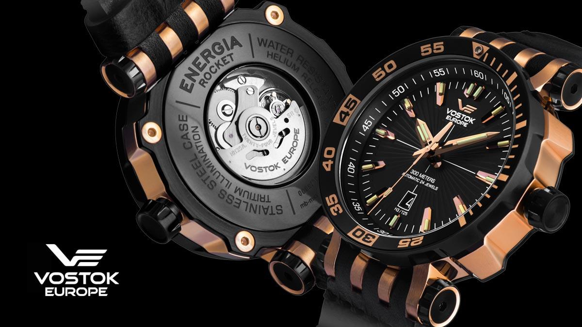 Kvalitní hodinky Vostok Europe
