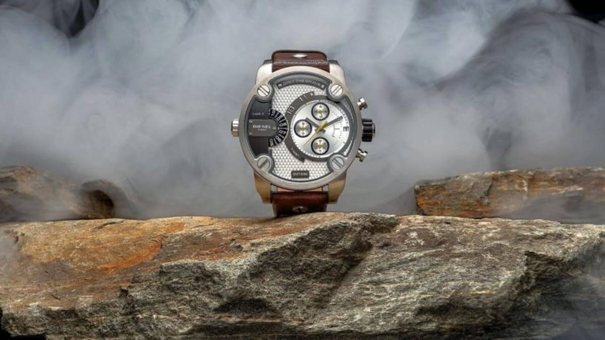 Velké pánské hodinky Diesel pro každého, kdo se nebojí ukázat svůj styl