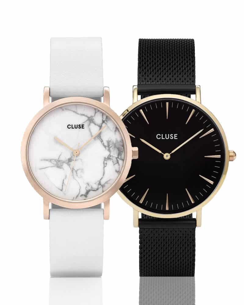Dámské hodinky Cluse, které jsou známé díky svým minimalistickým ciferníkem