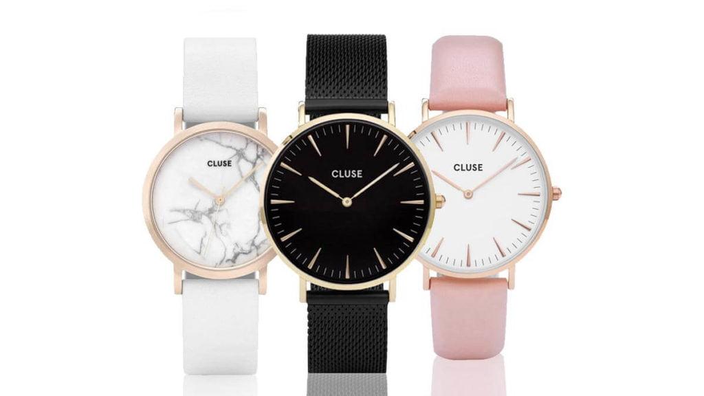 Jemné a minimalistické dámské hodinky Cluse
