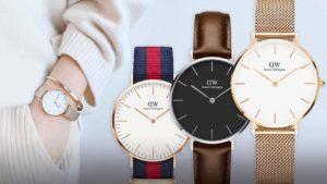 Módní dámské hodinky Daniel Wellington v různých barevných provedeních