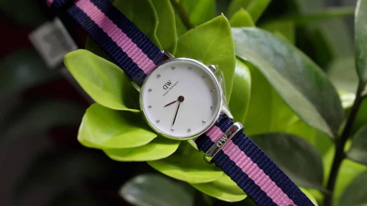 Jeden z prvních modelů dámských hodinek Daniel Wellington