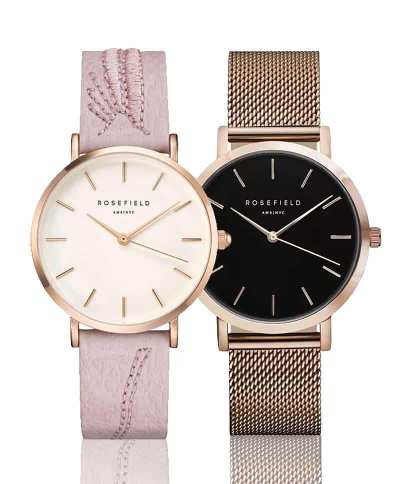 Jemné dámské hodinky Rosefield s minimalistickými ciferníky
