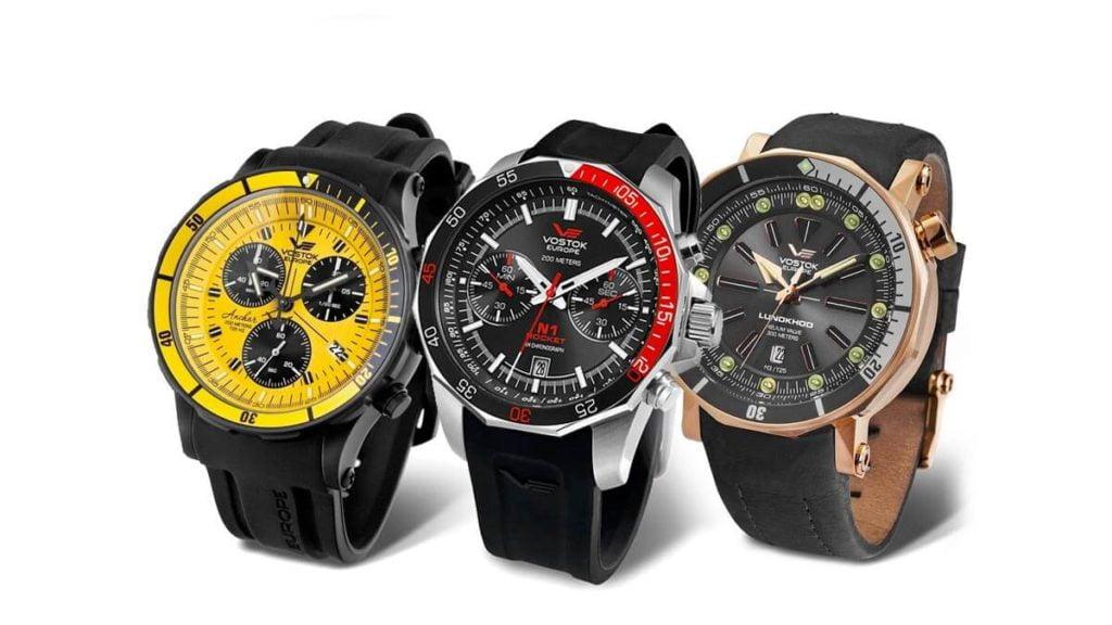 Pánské hodinky Vostok Europe jsou originální pánské modely hodinek s velkým ciferníkem