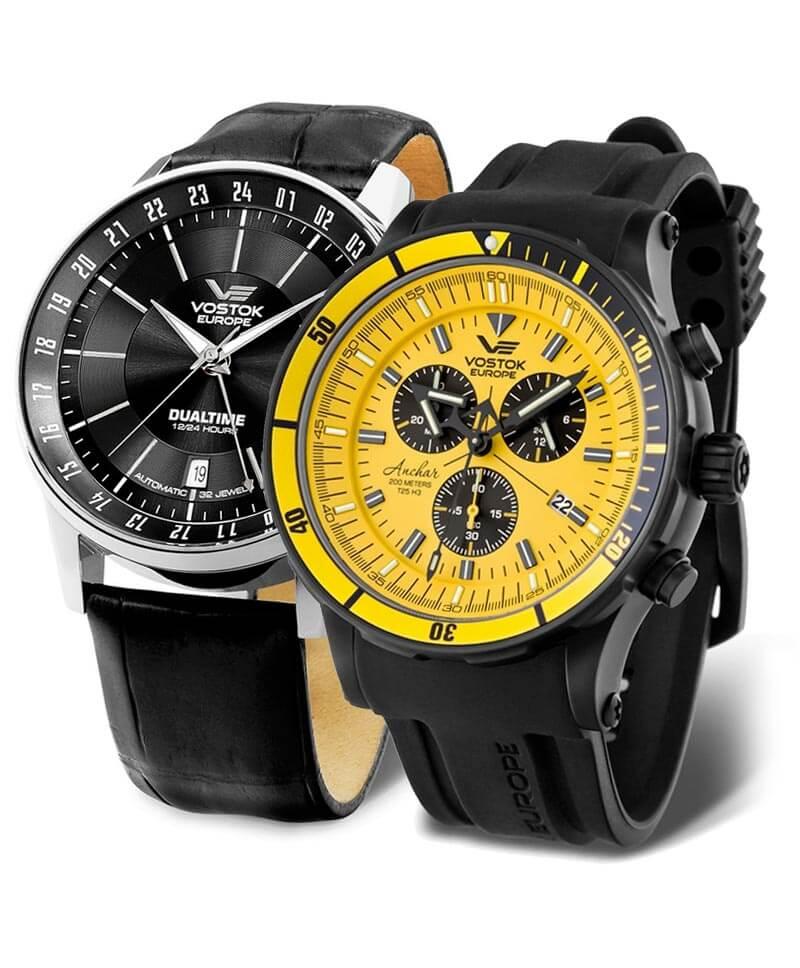 Hodinky Vostok Europe jsou masivní a kvalitně zpracované hodinky původem z Litvy