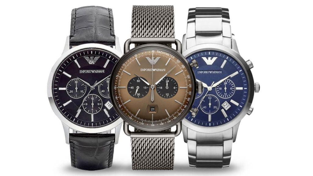 Pánské hodinky Emporio Armani jsou kvalitní módní hodinky