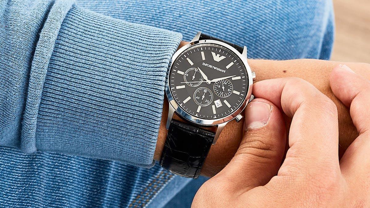 Luxusní hodinky pro pána Emporio Armani