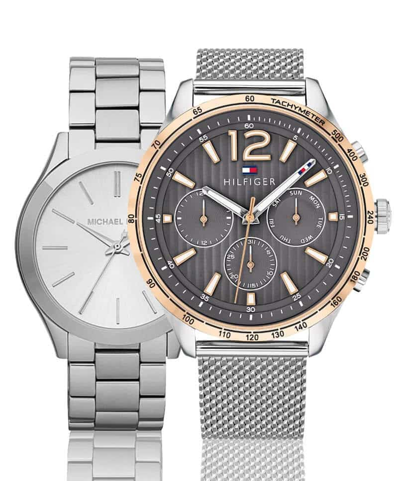 Módní hodinky pro pány a dámy