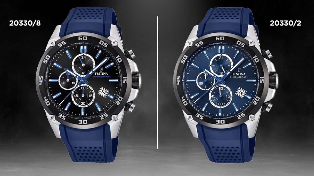 Modré hodinky Festina Originals