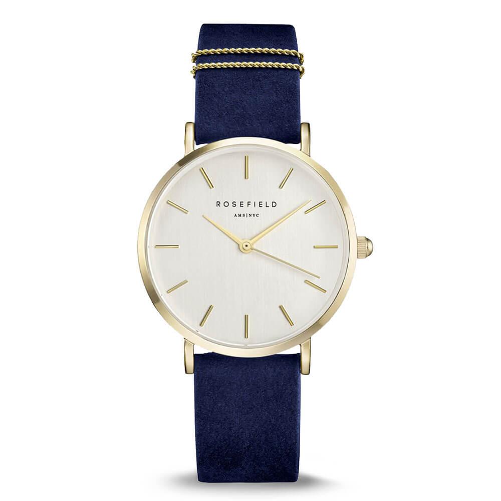 Dámske hodinky Rosefield so zlatým ciferníkom