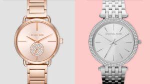 Stříbrné a růžové dámské hodinky jsou populárními barvami hodinek pro dámy