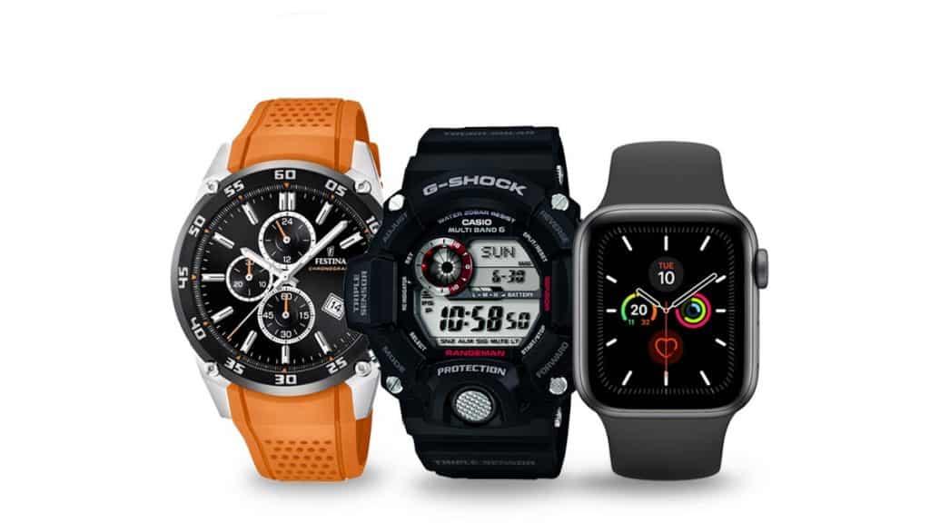 Běžecké hodinky pro pány, turistiku a jinou sportovní aktivitu