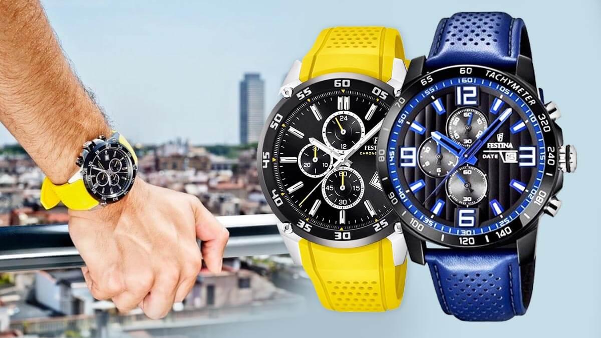 Pánské hodinky Festina The Originals jsou stylové sportovní hodinky