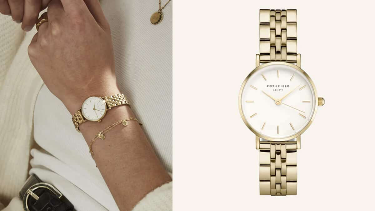 Elegantní dámské hodinky značky Rosefield
