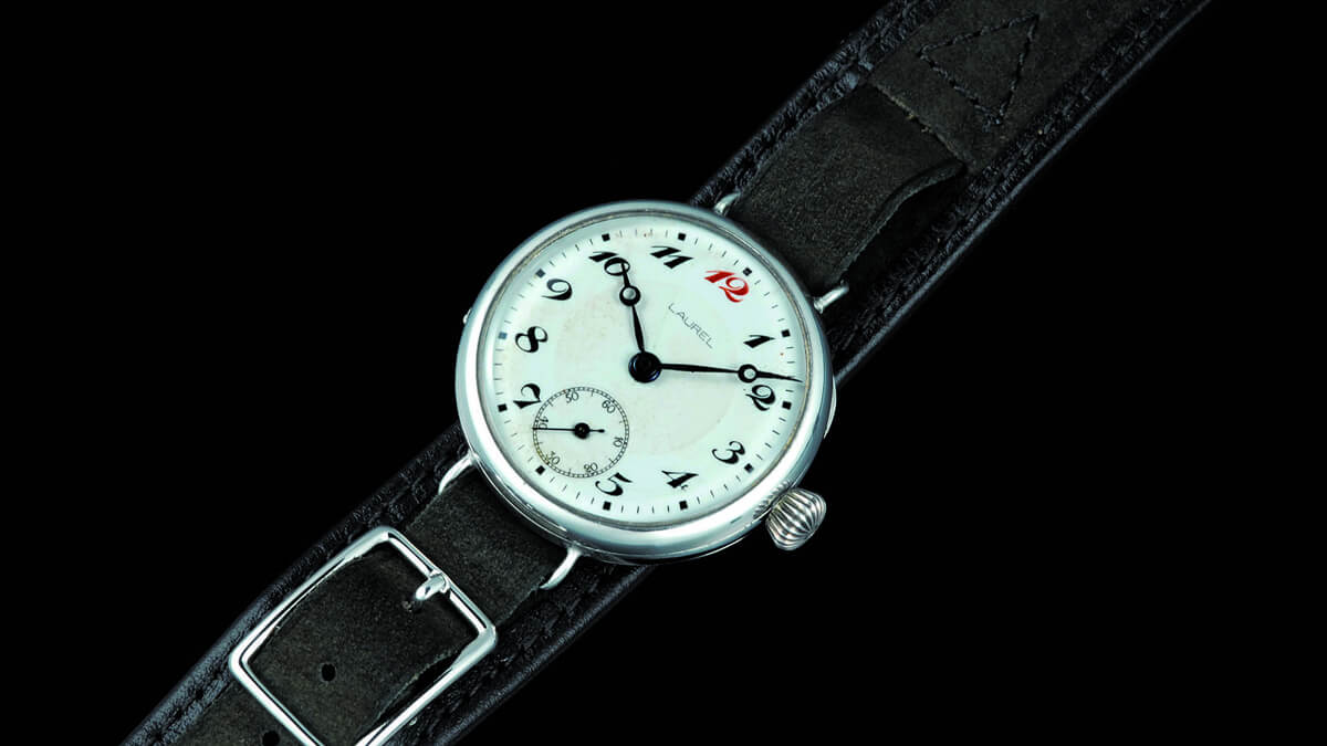 První náramkové hodinky od Seiko - ještě pod značkou Laurel