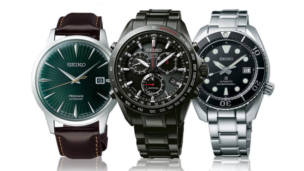 Pánské náramkové hodinky značky Seiko