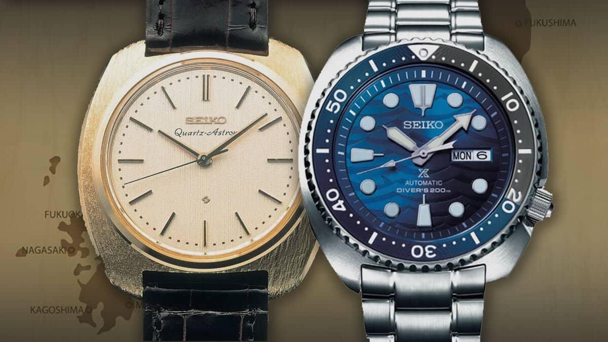 Japonské náramkové hodinky Seiko jsou zárukou kvality