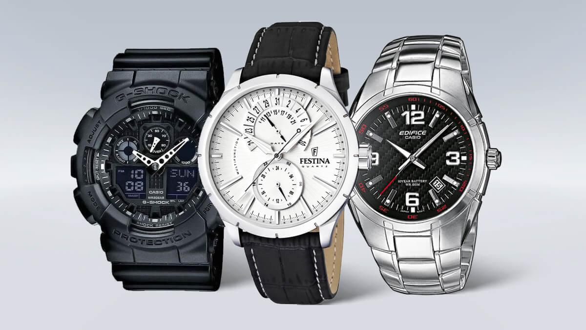 Levné pánské hodinky od ověřených značek