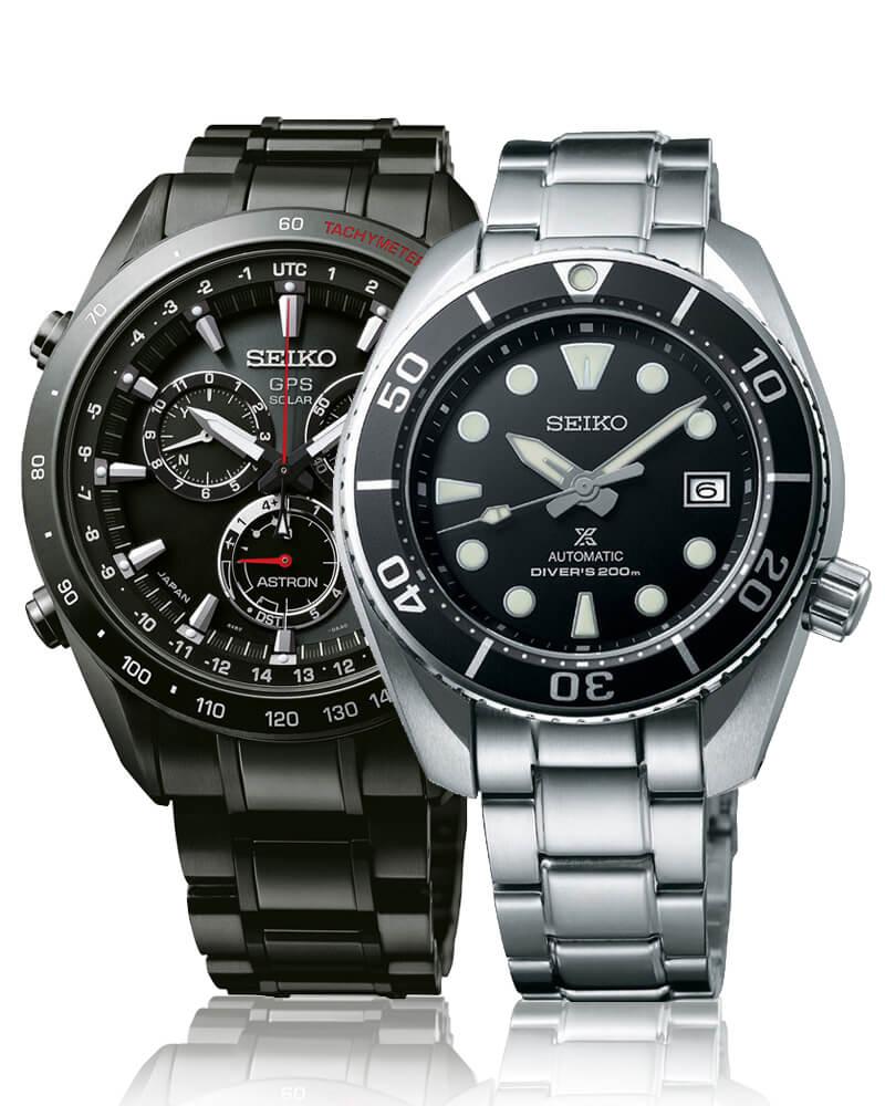 Kvalitní japonské hodinky Seiko