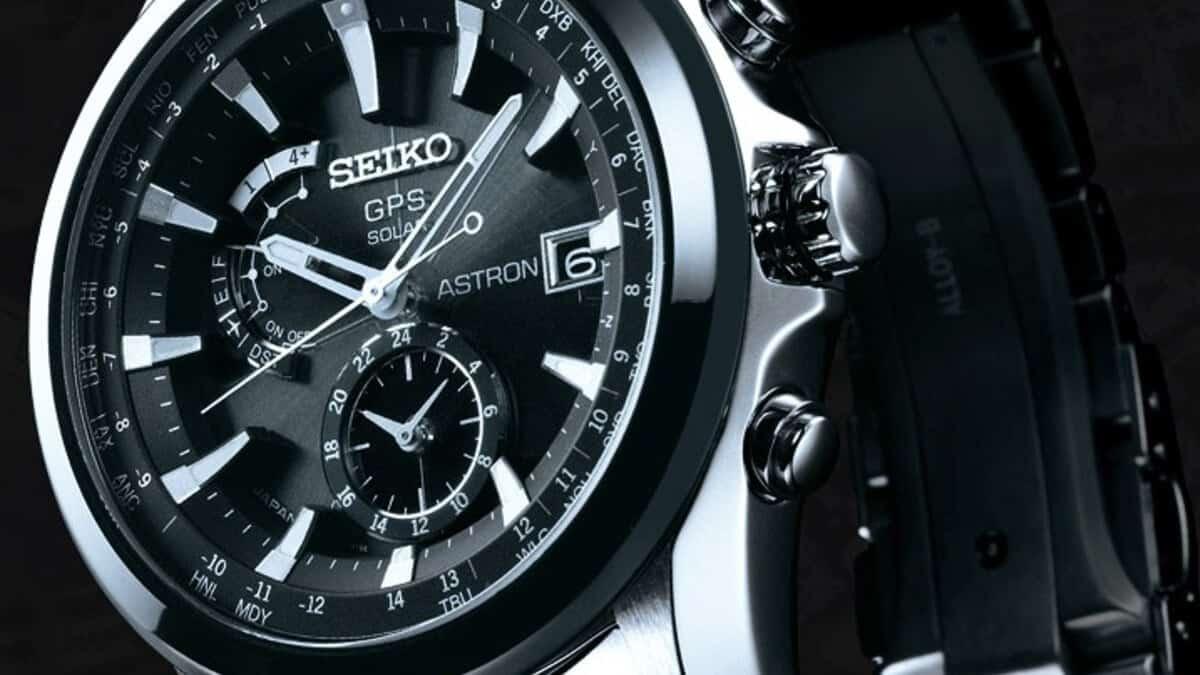 Solární hodinky Seiko s GPS přijímačem