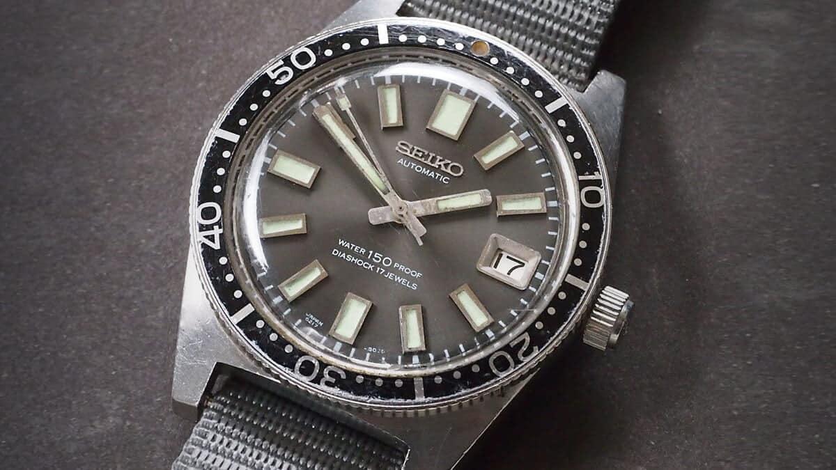 Potápěčské hodinky Seiko Divers