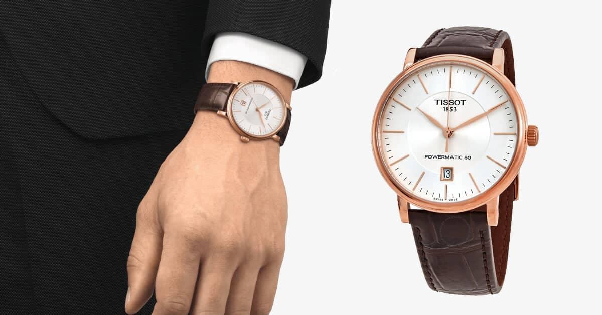 Luxusné hodinky z edície Tissot Carson