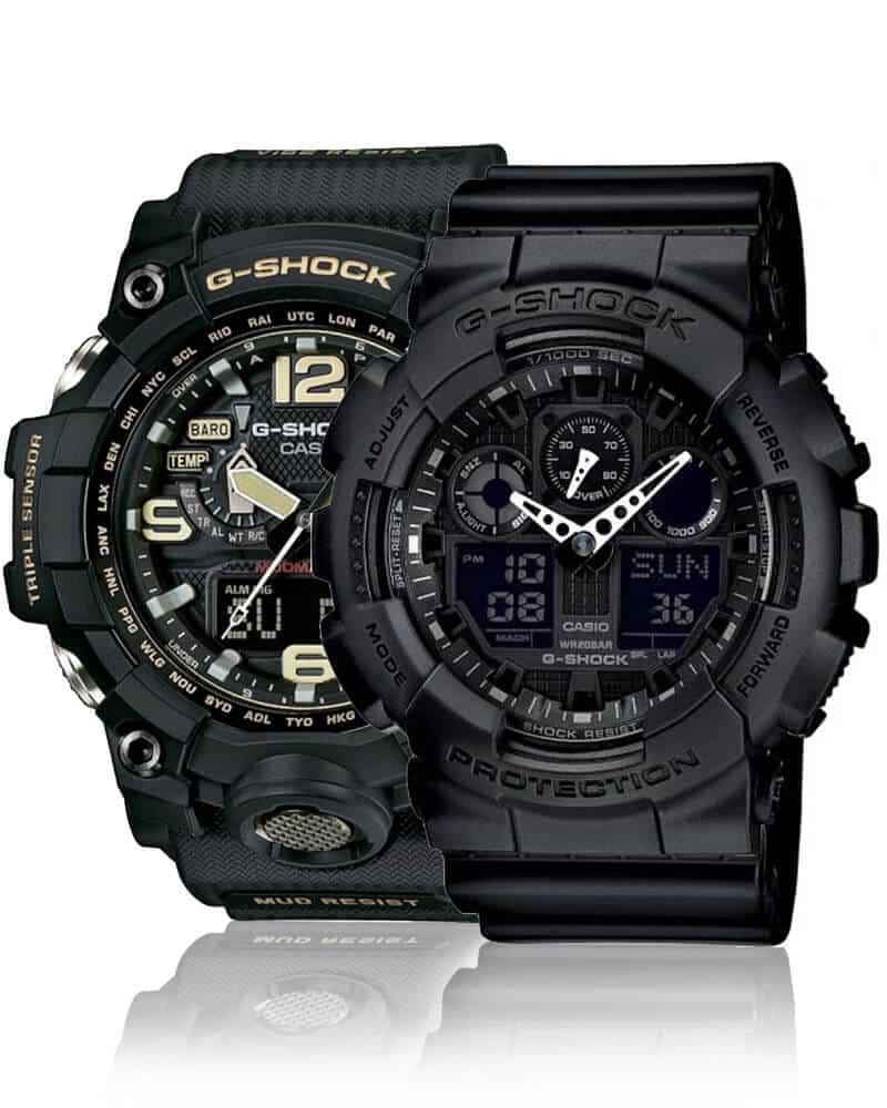 Robustní pánské hodinky Casio G-Shock jsou skvělou volbou pro každého, kdo hledá odolné hodinky