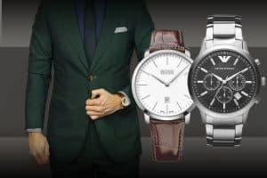 Hledáte stylové pánské hodinky k obleku?
