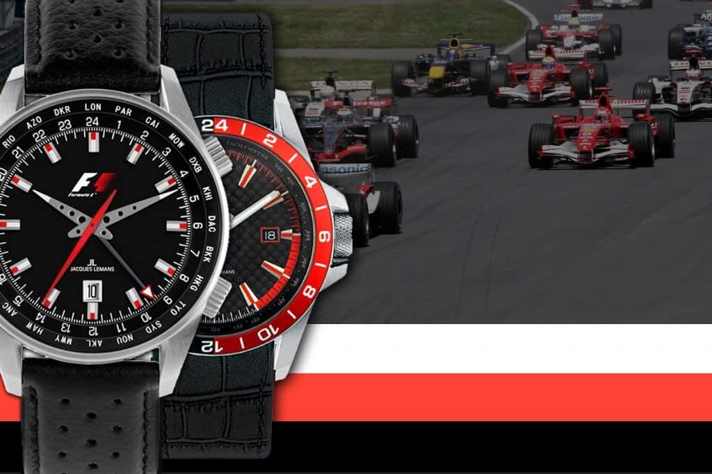 Hodinky Jacques Lemans byly exkluzivním partnerem závodů formule F1