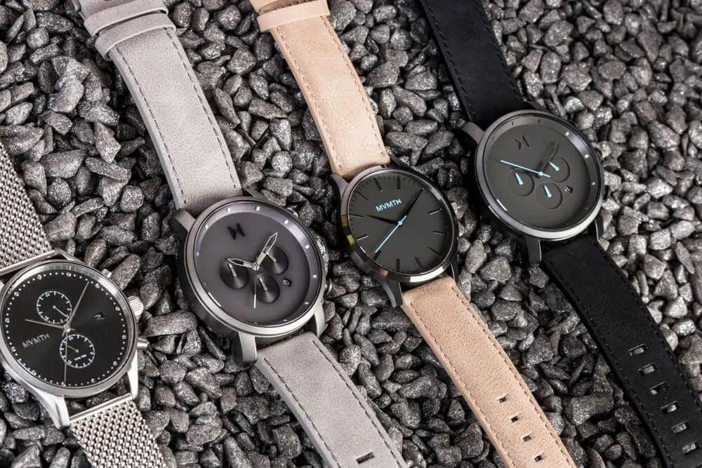 Pánské hodinky MVMT v různých barevných variacích