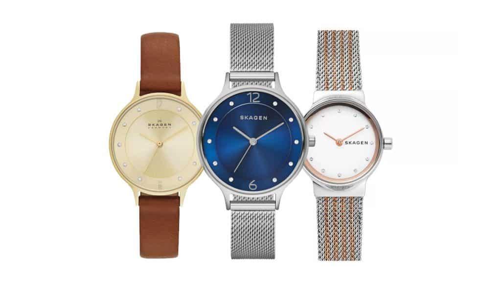 Dámské hodinky Skagen vás okouzlí minimalistickými liniemi