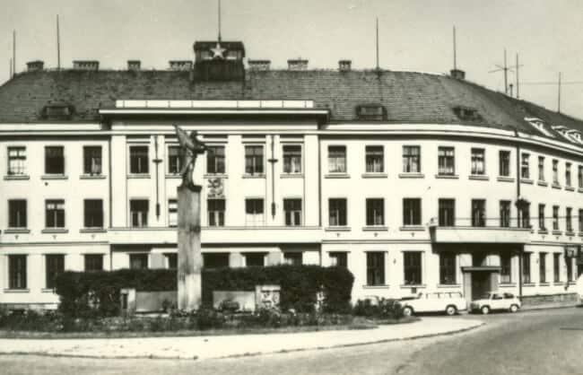 První továrna na hodinky značky Prim v Novém Městě nad Metují