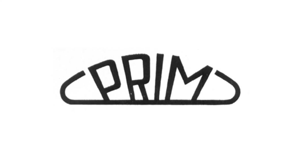 Logo společnosti Prim z roku 1956