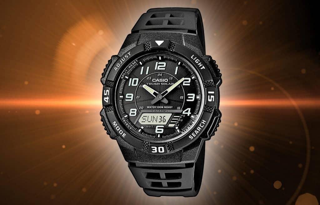 Alt: Pánské hodinky na solární pohon - Casio Tough Solar