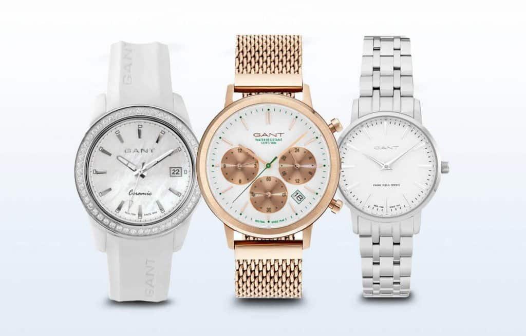 Naše tři tipy na dámské hodinky Gant