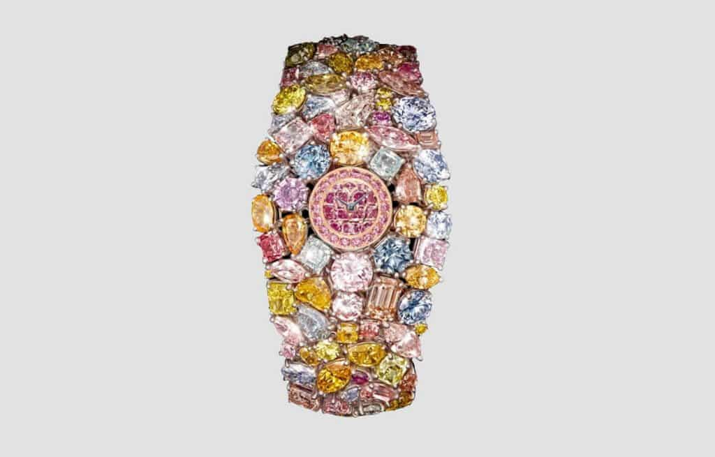 Unikátní hodinky se šílenou cenovkou. To jsou nejdražší hodinky na světě Graff Diamonds Hallucination
