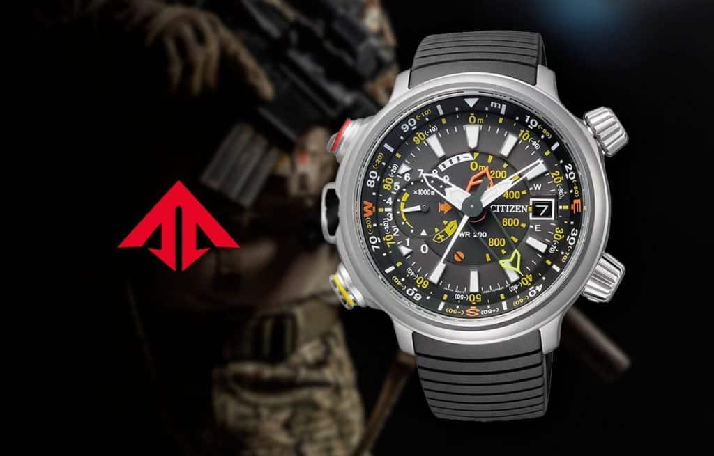 Masivní vojenské hodinky Citizen z edice Promaster Land