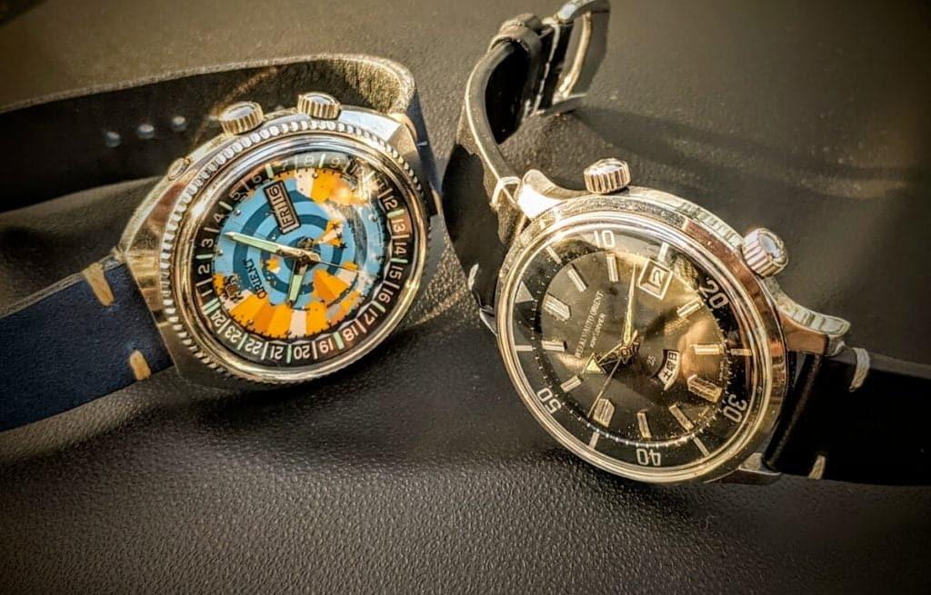 Historické modely hodinek Orient