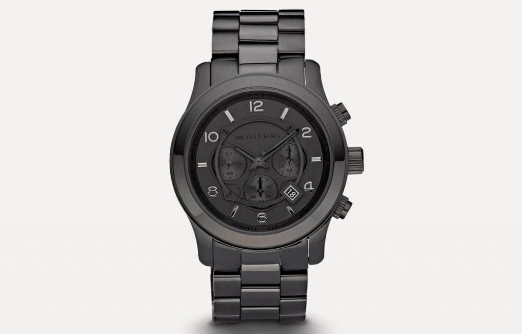 Černé pánské hodinky Michael Kors MK6248