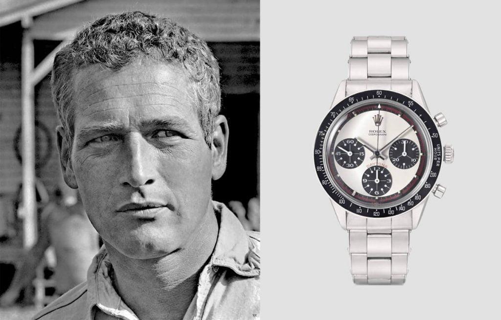 Mezi fanoušky hodinek patřil i hollywoodský herec Paul Newman. Unikátní hodinky Rolex Daytona s jeho jménem patří mezi nejdražší hodinky na světě