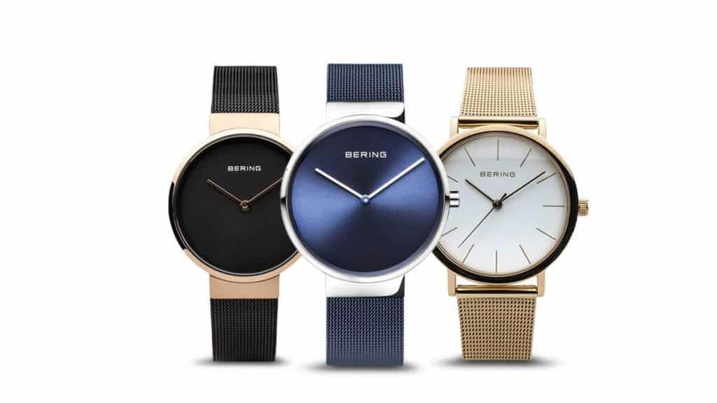 Jemné minimalistické dámské hodinky Bering