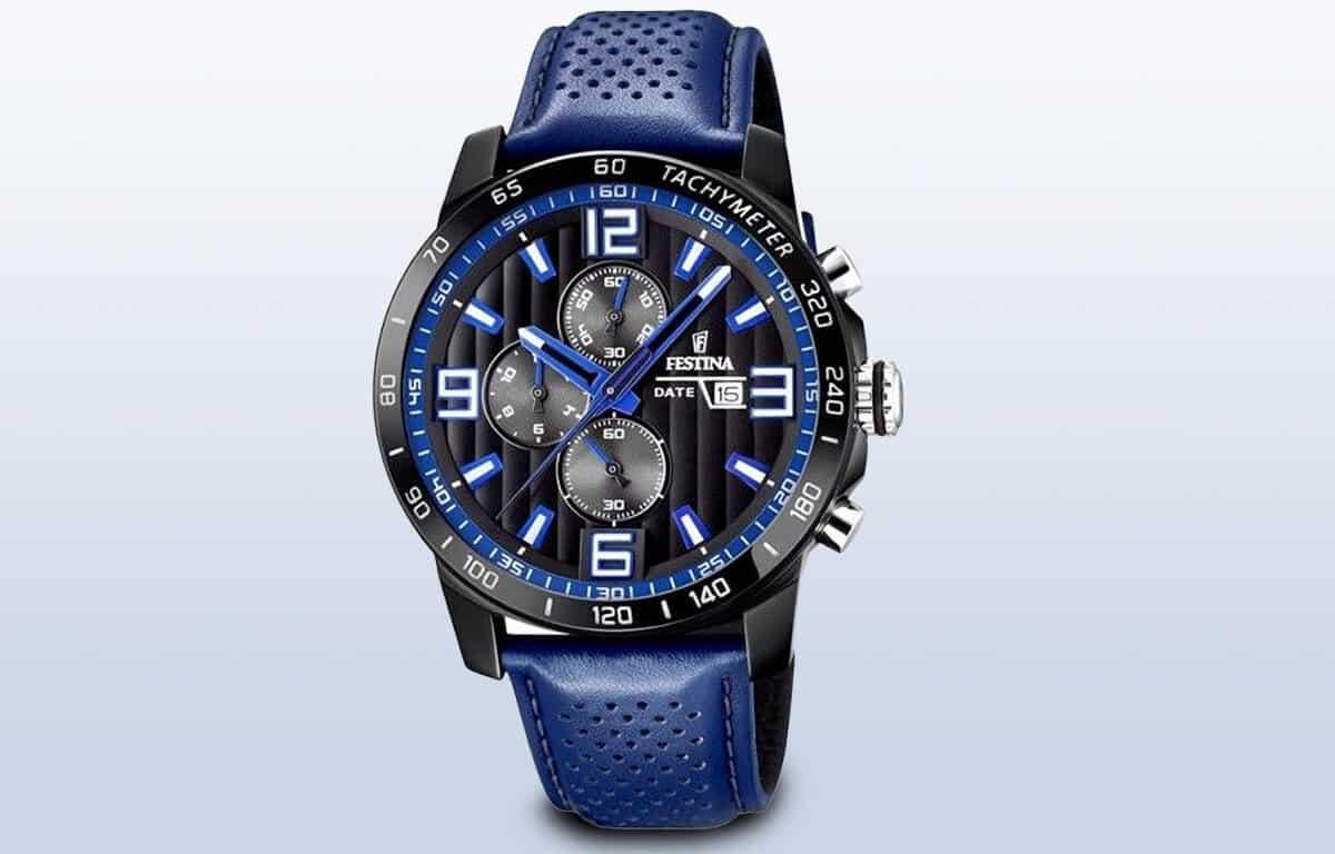 Levné sportovně-elegantní hodinky Festina